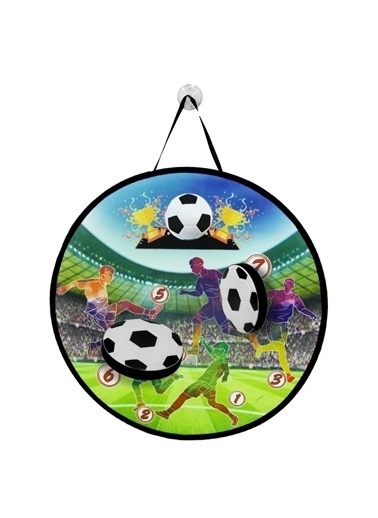 Birlik Oyuncak Birlik Oyuncak Fırlat Yapıştır Futbol Çocuk Oyun Seti Renkli